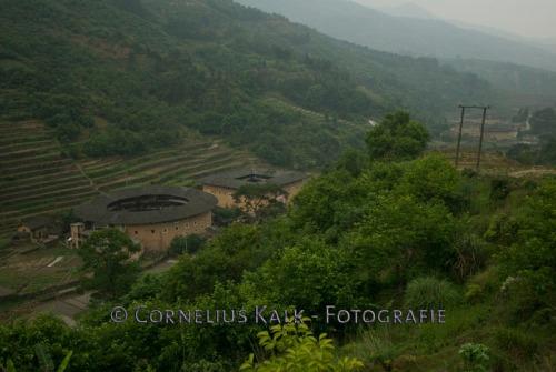 Rundhaeuser in Yongding