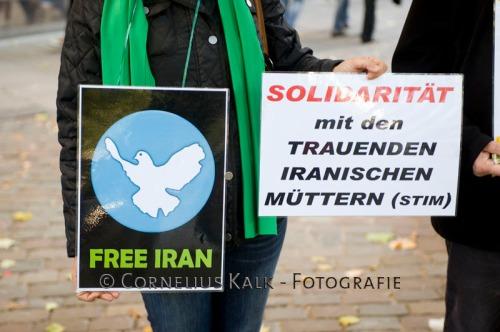 Solidaritätsbekundung mit den iranischen Müttern Parke Lale-Hamburg