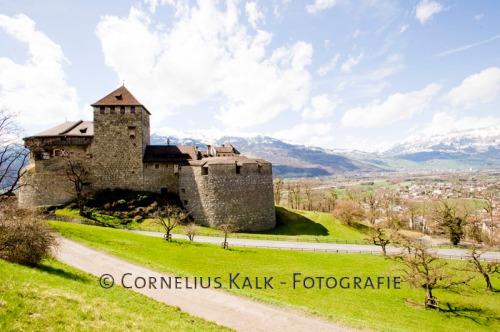 Fotografien von dem FŸrstentum Liechtenstein und Vaduz